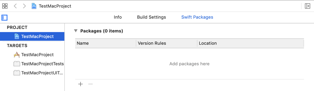 SwiftPackagesList